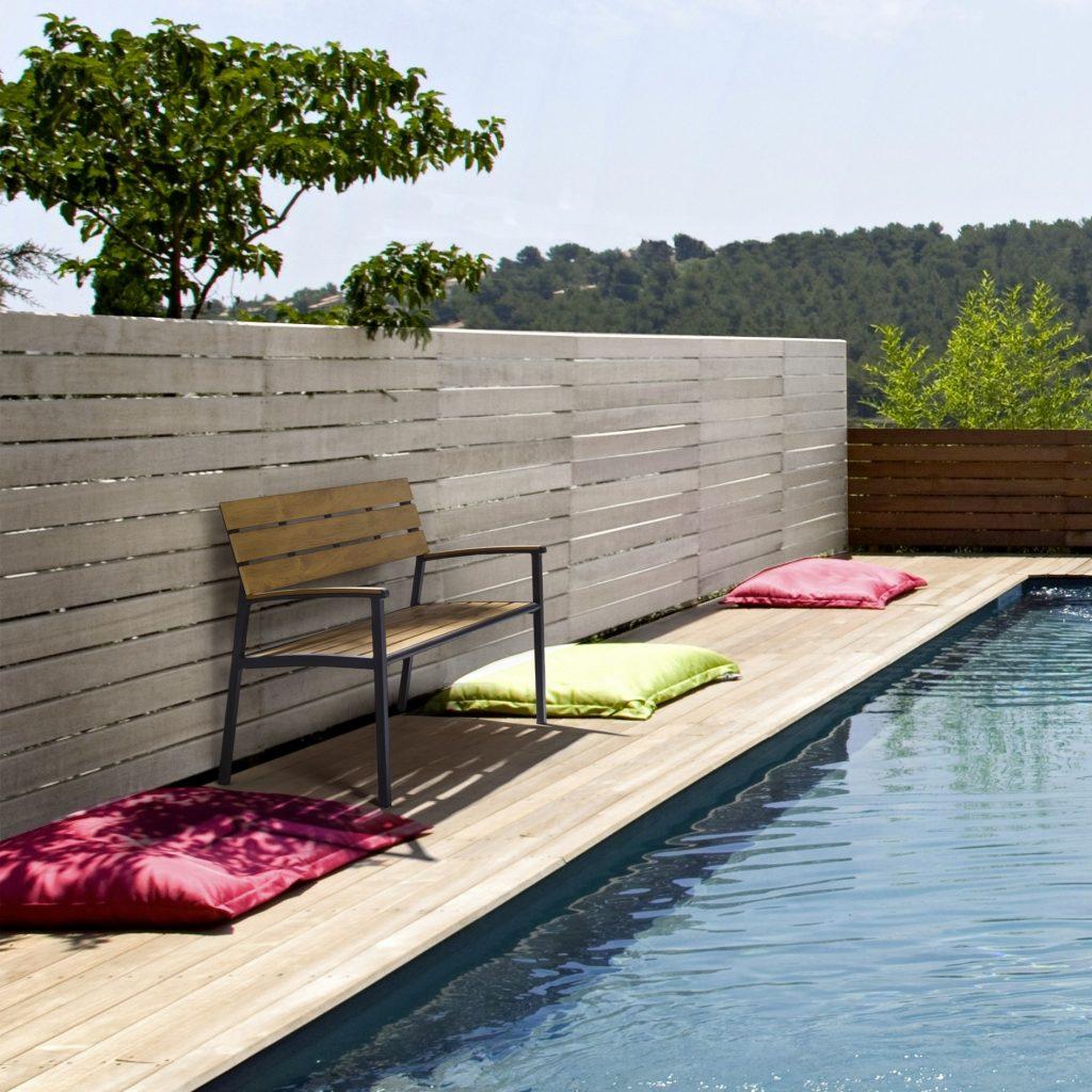 panchina piscina