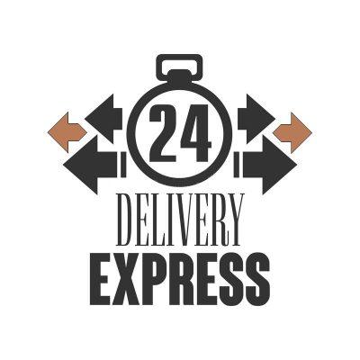 consegna-precisa-ore-di-logo-di-modello-di-progettazione-illustrazione-di-vettore-su-un-fondo-bianco-97190521